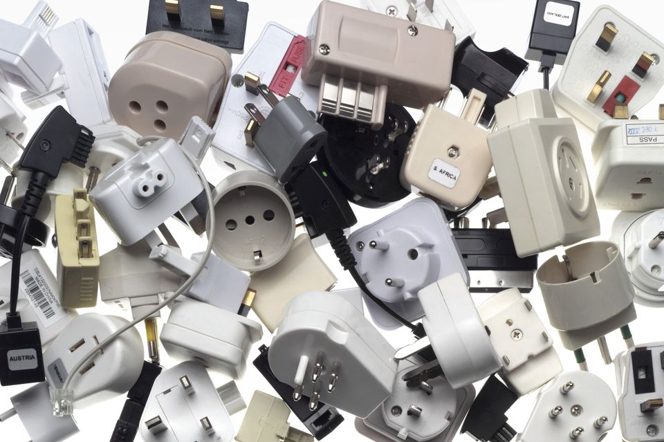 Collection of International Power Adapters