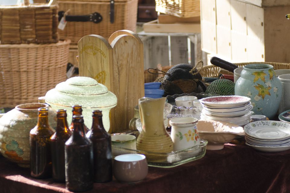 The Walnut Antique Show features antique, rustic, and vintage finds.