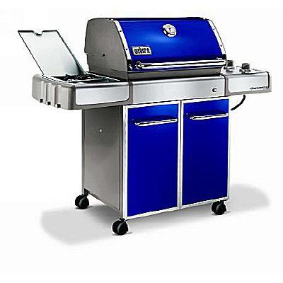 Weber Genesis E320 Gas Grill (Blue)