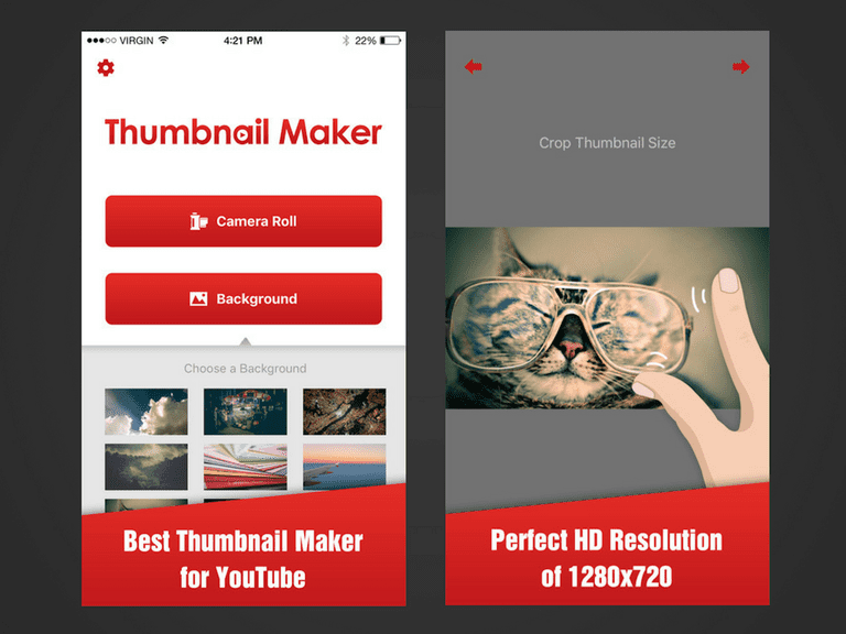 Youtube Thumbnail Maker App – Fondos de Pantalla