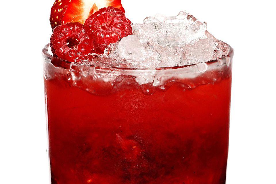 Raspberry Caipirinha