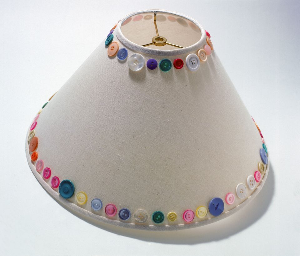 Charming Ideas Better Homes And Gardens Lamp Shades. Button Lampshade From Better Homes and Gardens Clever Decorating Ideas for Lampshades