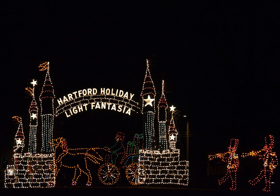 Hartford Holiday Light Fantasia