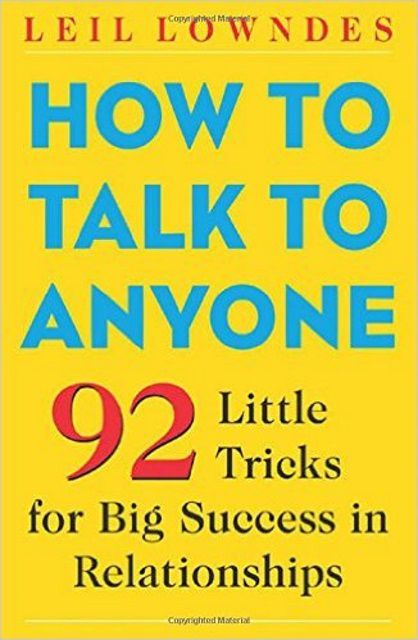 Leil Lowndes' How to Talk to Anyone book cover