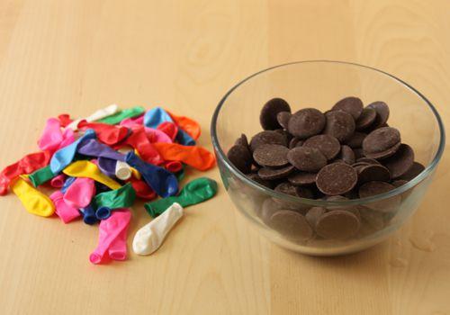 Chocolate Bowl photo tutorial
