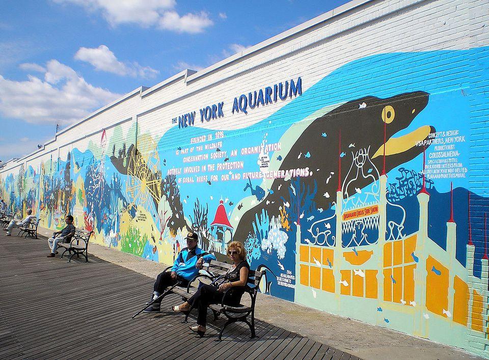 New York Aquarium by David Shankbone, New York City