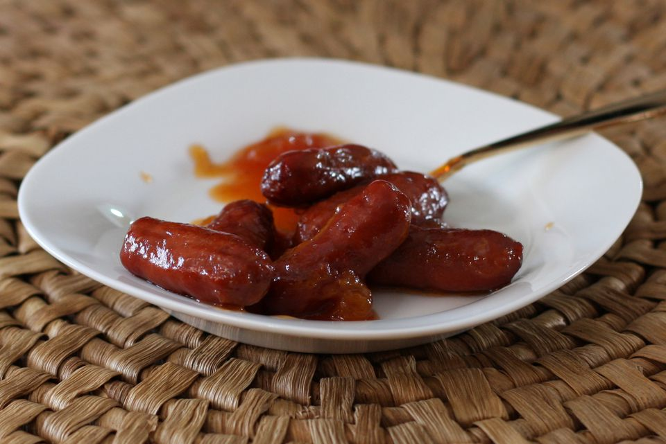 Little Smokies with Spicy Sauce