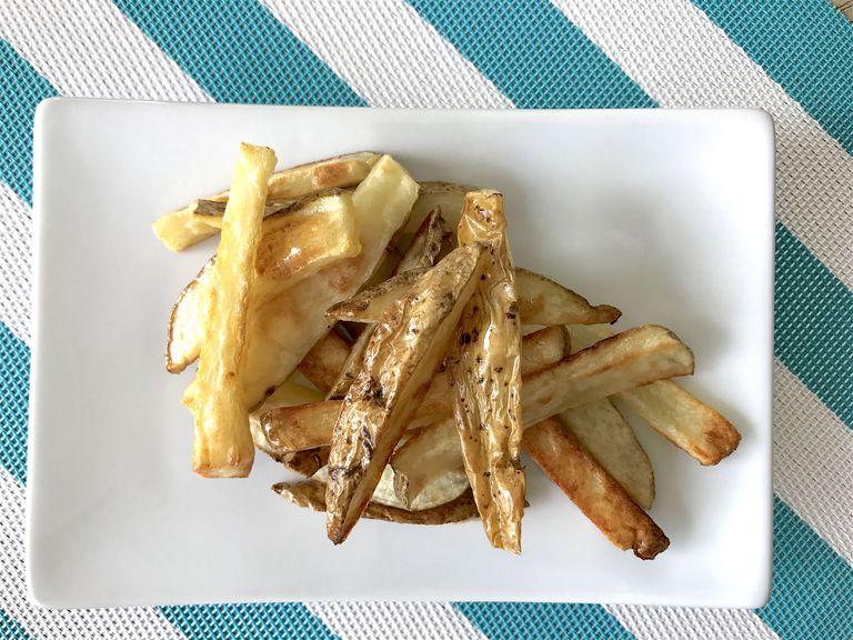 crispy baked fries