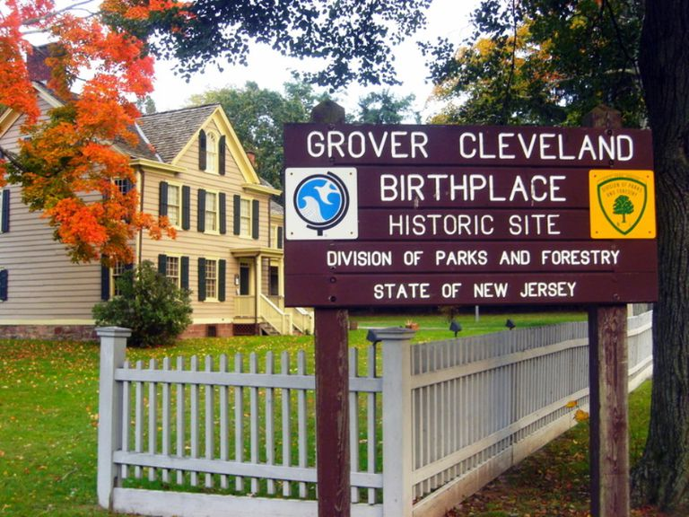 Grover Cleveland Birthplace in Caldwell, New Jersey