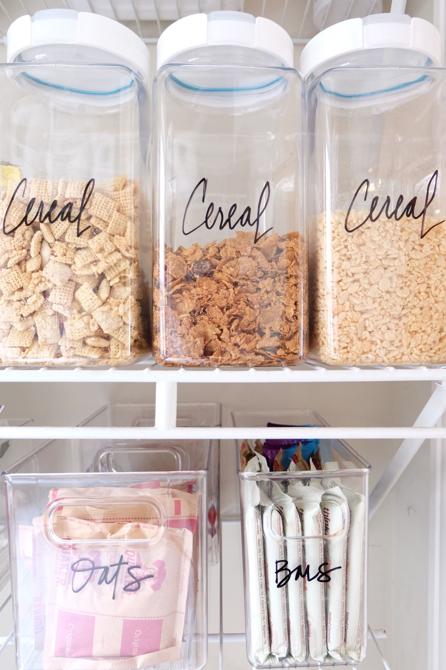 10 ideas to help you organize your pantry Cheap home storage ideas