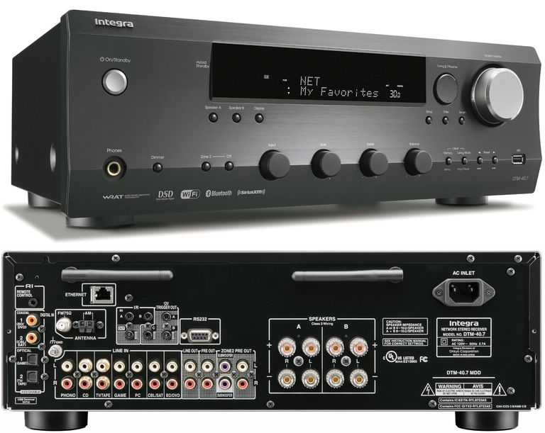 Integra DTM-40.7 Network Stereo Receiver
