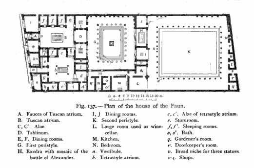 pompeii s house of the faun the richest residence