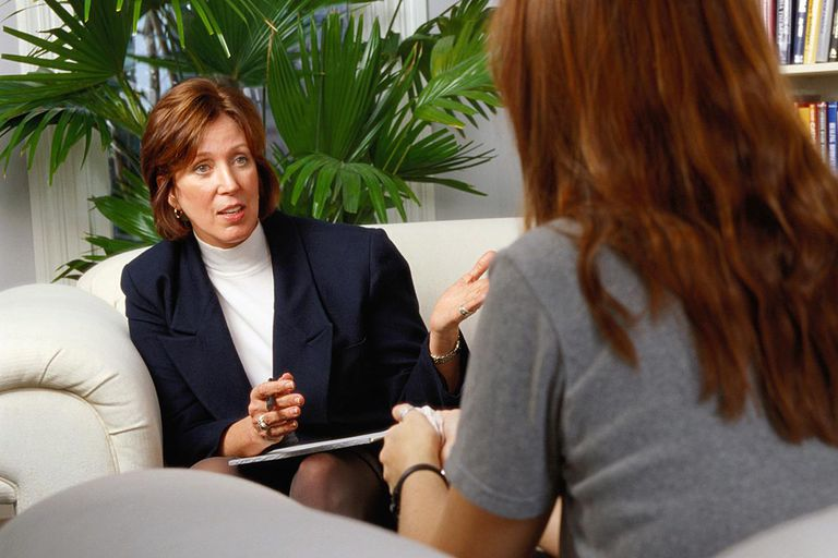 Therapist and Patient in a Counseling Session
