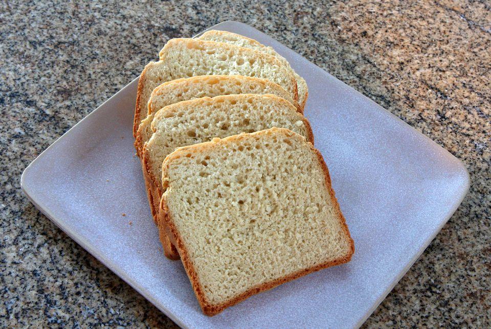 Basic Country White Bread, Bread Machine