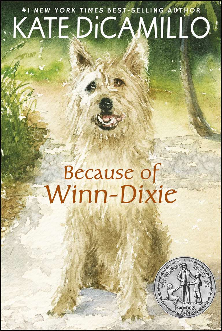 Because of WinnDixie by Kate DiCamillo Book and Movie