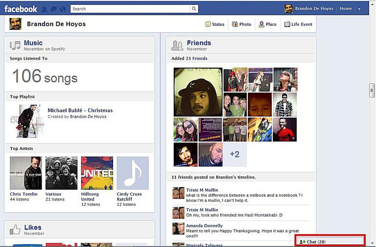 Facebook Chat Block