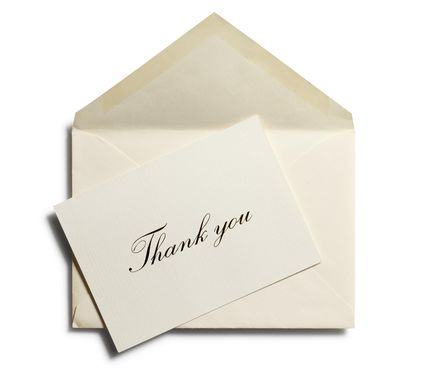 The Ultimate Guide to Wedding Thank You Notes and Etiquette – Etiquette Wedding Thank You Cards