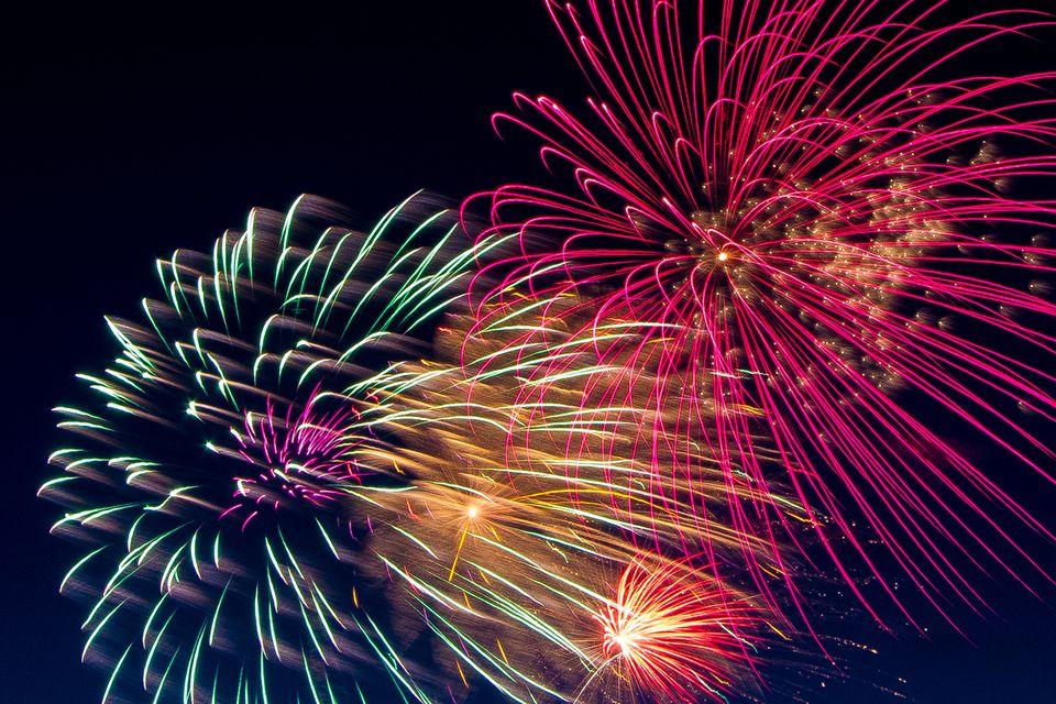 Fireworks! San Francisco in July