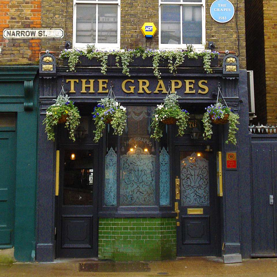 The Grapes in London