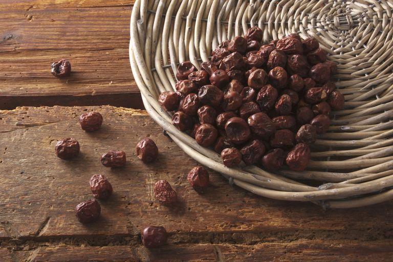 dried ziziphus (jujube berries)