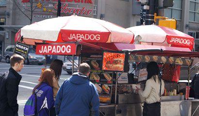 Japadog street food