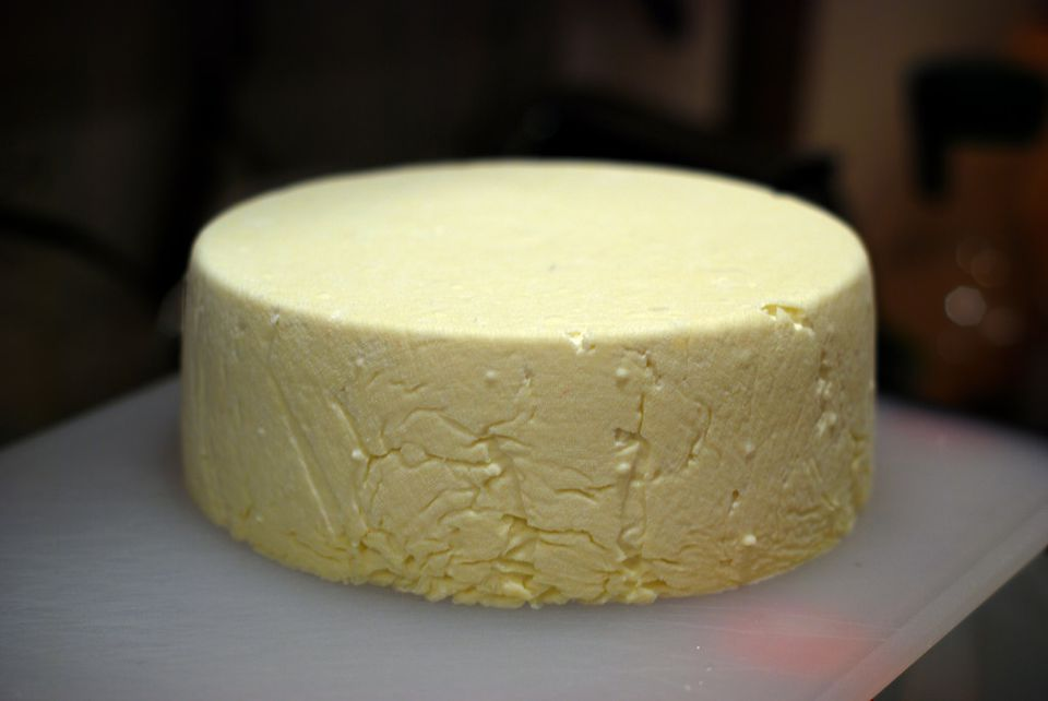 wheel of queso fresco