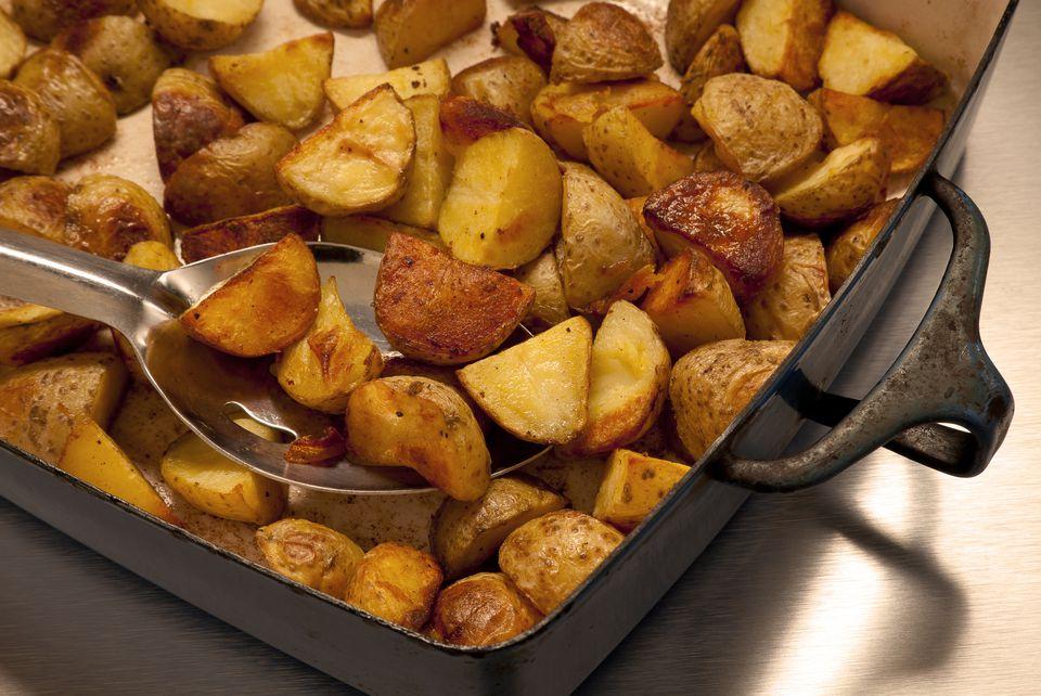 roasted potatoes paprika
