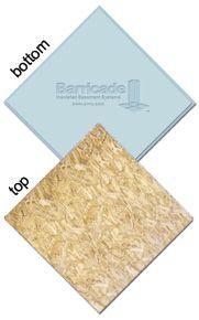 Prefab Subfloor Tiles Make Basement Flooring Easier