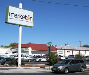 Marketon supermarket on Wells Avenue in Reno, Nevada