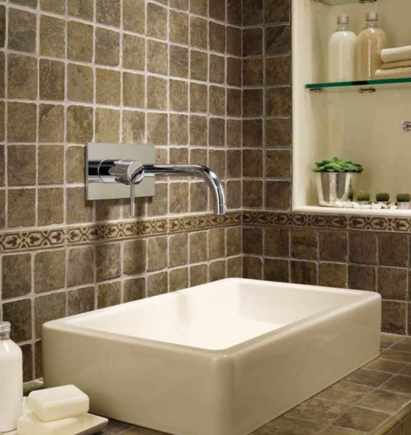 Bathroom backsplash basics pictures and dimensions for 6ft bathroom ideas