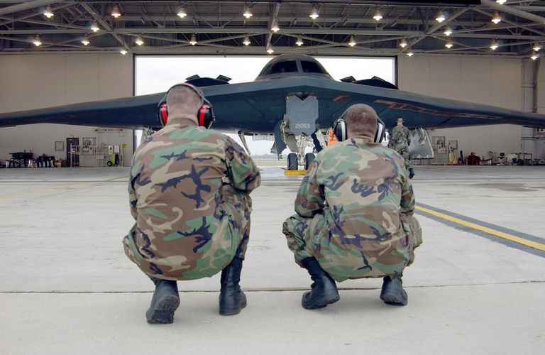 Stealth Bombers Mark Nine Years At Indiana Base