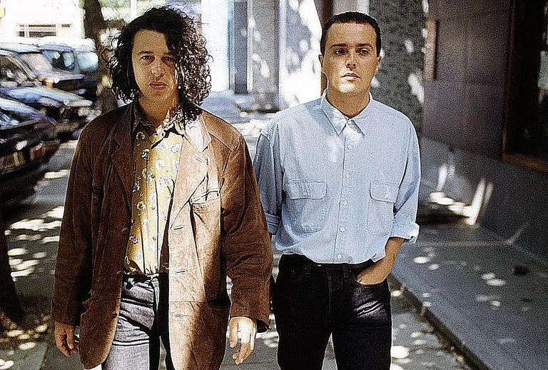 Tears for Fears, from left: Roland Orzabal and Curt Smith.