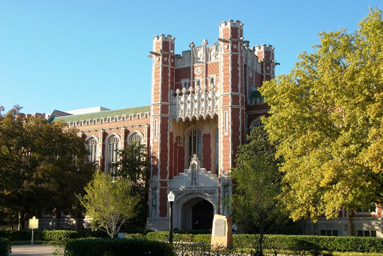 Bizzell Library at the University of Oklahoma