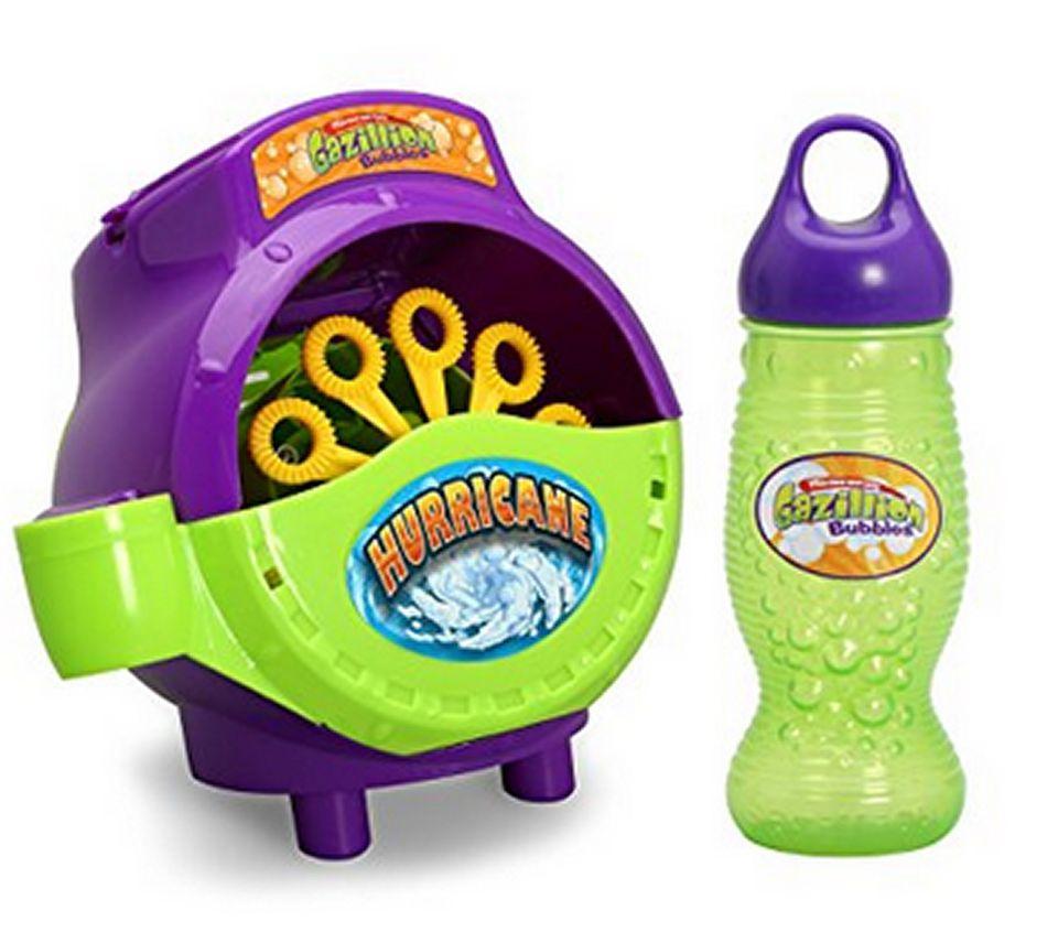 A picture of the Gazillion Hurricane Bubbles Machine