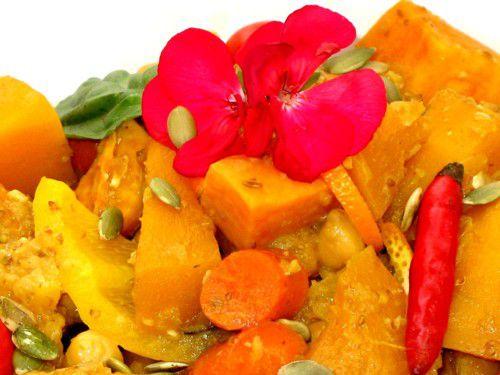 Thai Pumpkin Curry (Vegetarian)