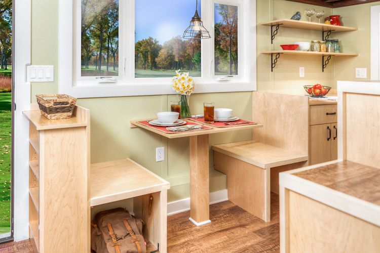 7 smart storage solutions to steal from tiny homes - Recliner for small spaces property ...