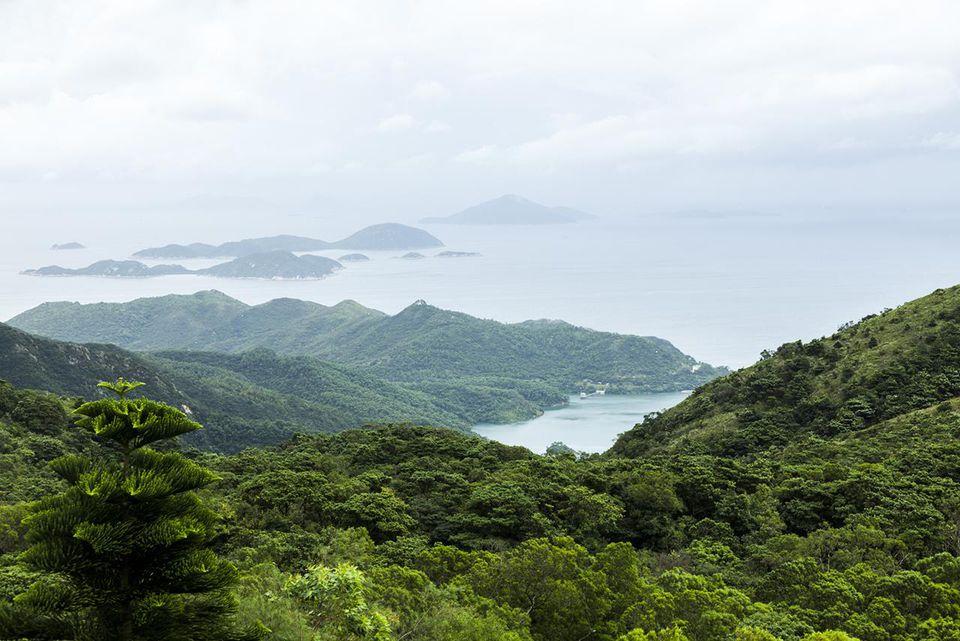 View of Lantau Island