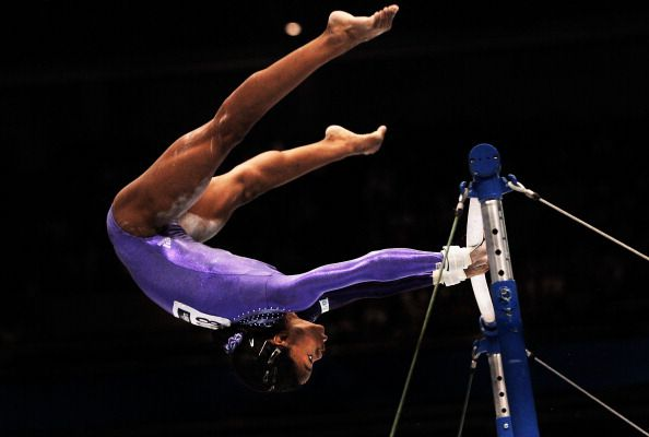 Photo of Gabrielle (Gabby) Douglas from the 2011 worlds in Tokyo