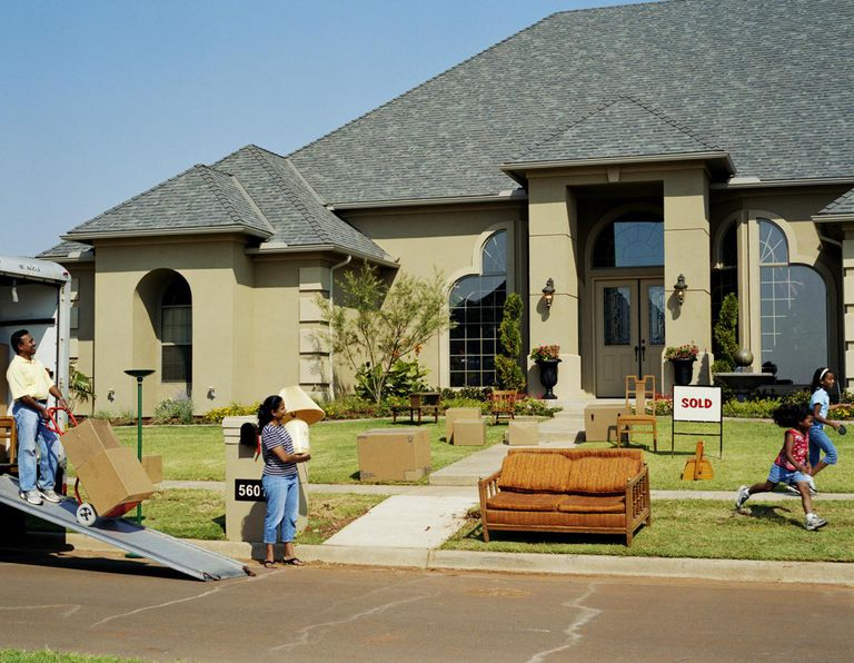 The tax deduction for moving expenses for Moving to new house
