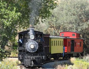 Nevada State Railroad Museum, Carson City, trains, steam locomotives