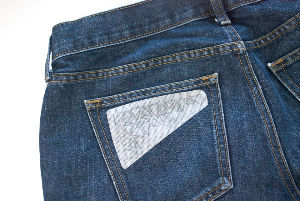 A guide for hand embroidery on denim marking the pattern on denim ccuart Images