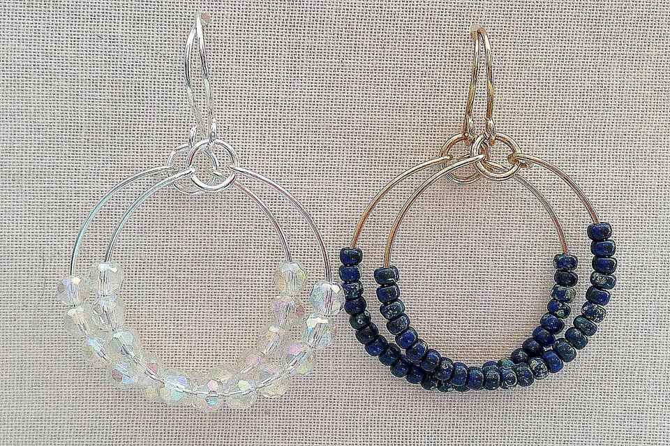 Brand new Make Wire and Bead Hoops for Every Mood and Outfit WP04