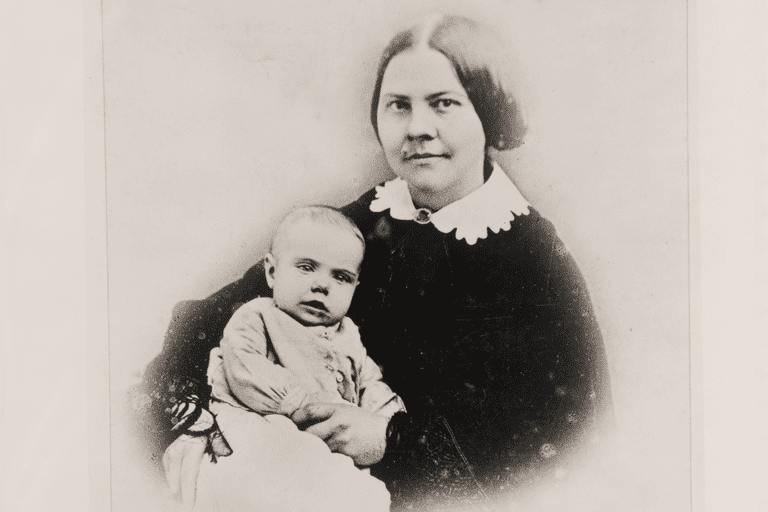 Lucy Stone with daughter Alice Stone Blackwell