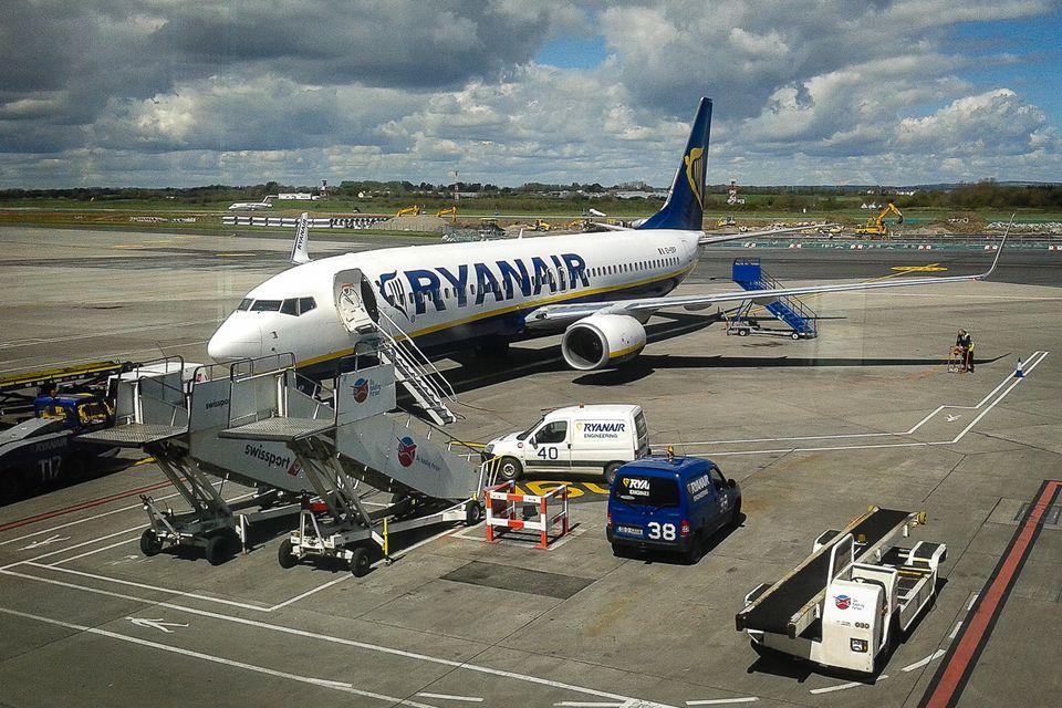 Ryanair at Dublin Aiport