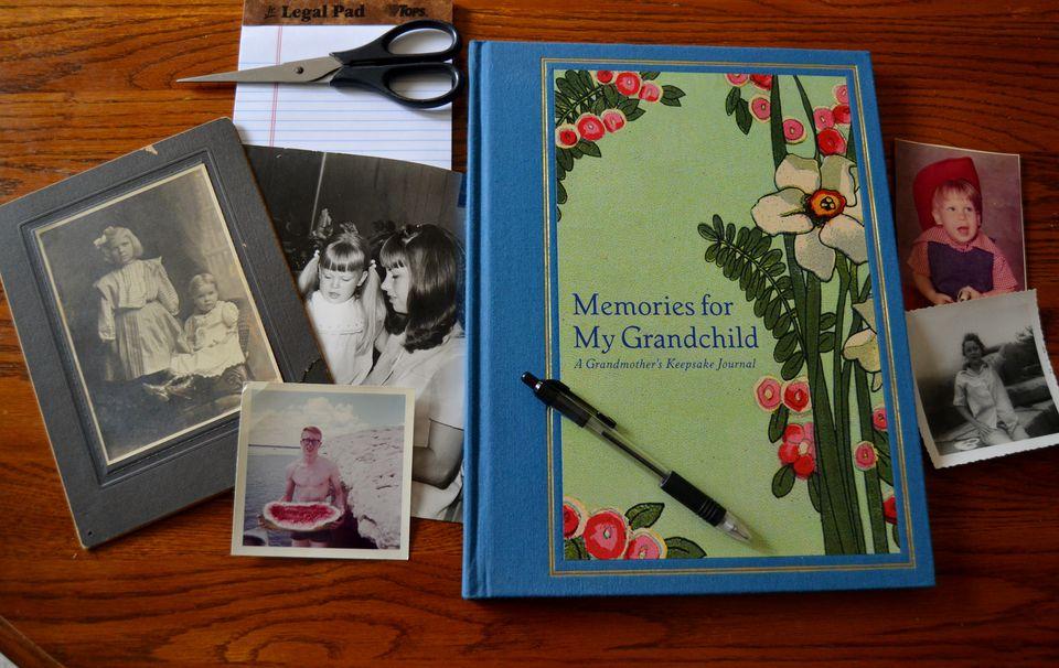 memories for my grandchild keepsake journal for grandmother