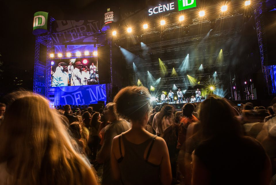 Part and parcel of the Montreal Jazz Festival's yearly offerings? Its free concerts roster, dozens of free outdoor shows blaring through downtown Montreal every single day. In 2015, the Montreal Jazz Festival runs June 28 to July 7, 2018.