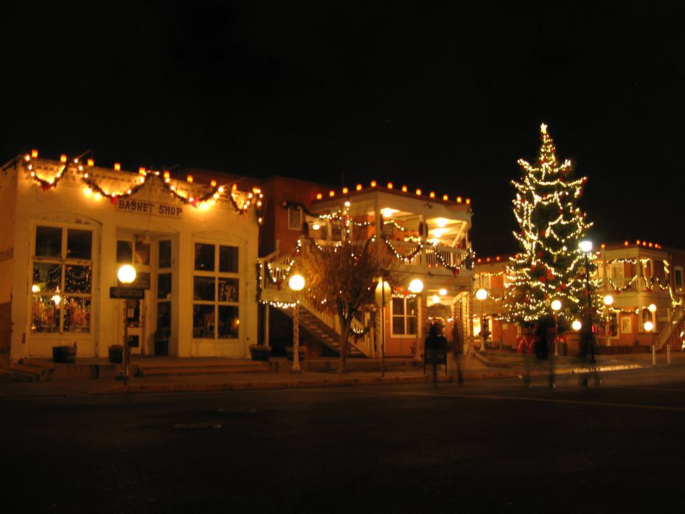 Christmas in Old Town, Albuquerque.