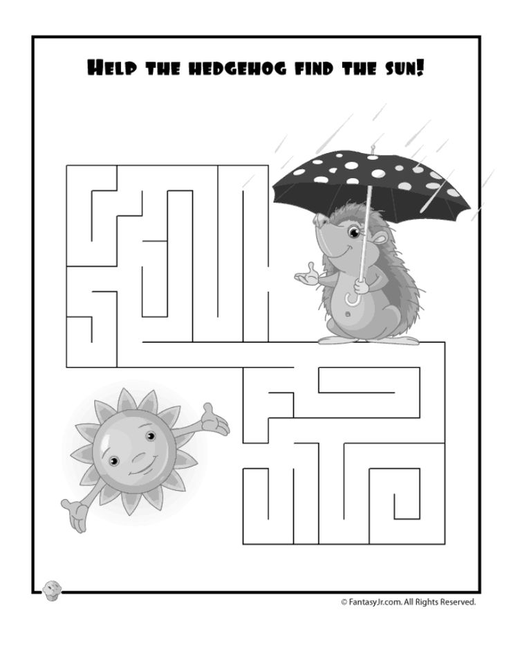 1000 Free Printable Mazes for Kids of All Ages
