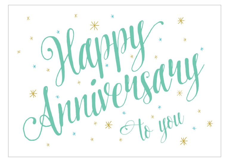 16 Free Anniversary Cards You Can Print – Anniversary Card Template