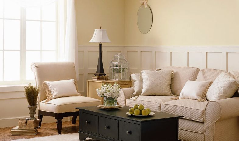 Neutral colors for the living room How long does it take to paint a living room